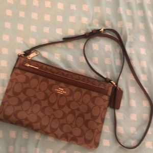 Coach East/West Crossbody with Pop-Up Pouch
